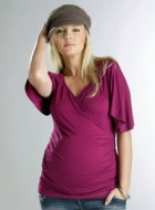 Maternity & Breastfeeding Top by Funmum