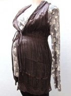 Brown Maternity Tunic by Noppies