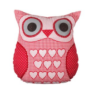 Owl Cushion Prize from Jenny's Shabby Chic
